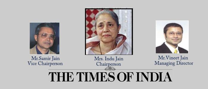indu jain times of india
