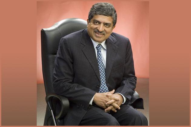 Nandan Nilekani-Chairman of the Unique Identification Authority of India (UIDAI)