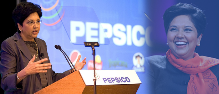 IndraNooyi-Chairperson of PepsiCo Company