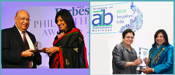 Kiran Mazumdar-Shaw is the Managing Director of BioconLtd