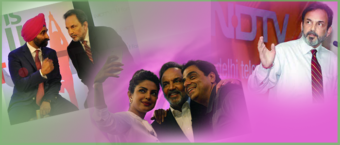 Prannoy-Executive Co-Chairperson of NDTV